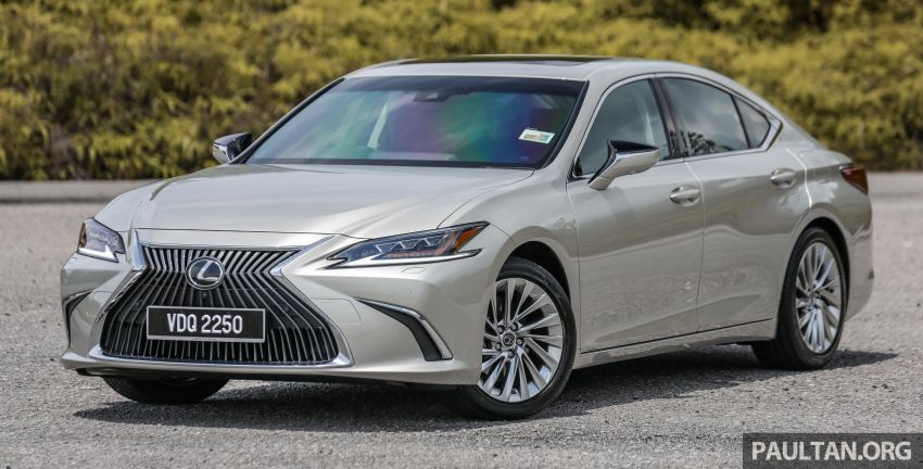 FIRST DRIVE: 2019 Lexus ES 250 Luxury – RM333k Image #1038350