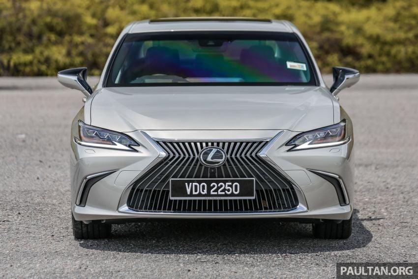 FIRST DRIVE: 2019 Lexus ES 250 Luxury – RM333k Image #1038359