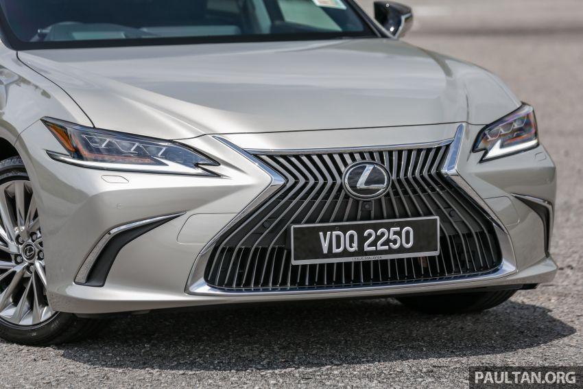 FIRST DRIVE: 2019 Lexus ES 250 Luxury – RM333k Image #1038364