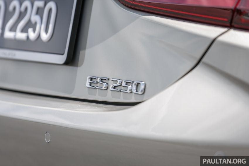 FIRST DRIVE: 2019 Lexus ES 250 Luxury – RM333k Image #1038384