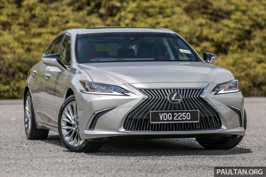 FIRST DRIVE: 2019 Lexus ES 250 Luxury – RM333k Image #1038353