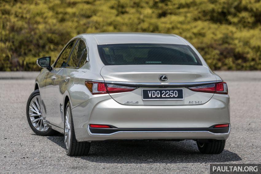 FIRST DRIVE: 2019 Lexus ES 250 Luxury – RM333k Image #1038356