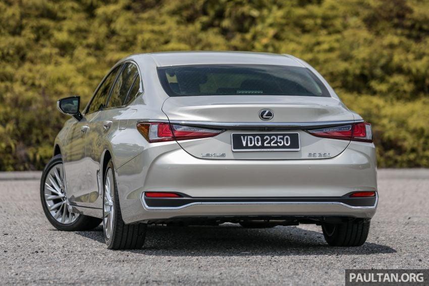 FIRST DRIVE: 2019 Lexus ES 250 Luxury – RM333k Image #1038357