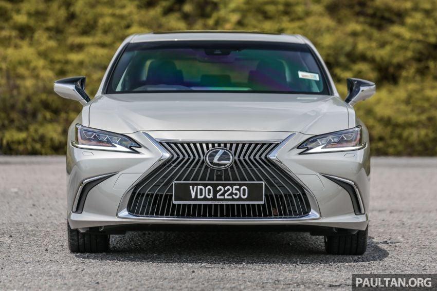 FIRST DRIVE: 2019 Lexus ES 250 Luxury – RM333k Image #1038358