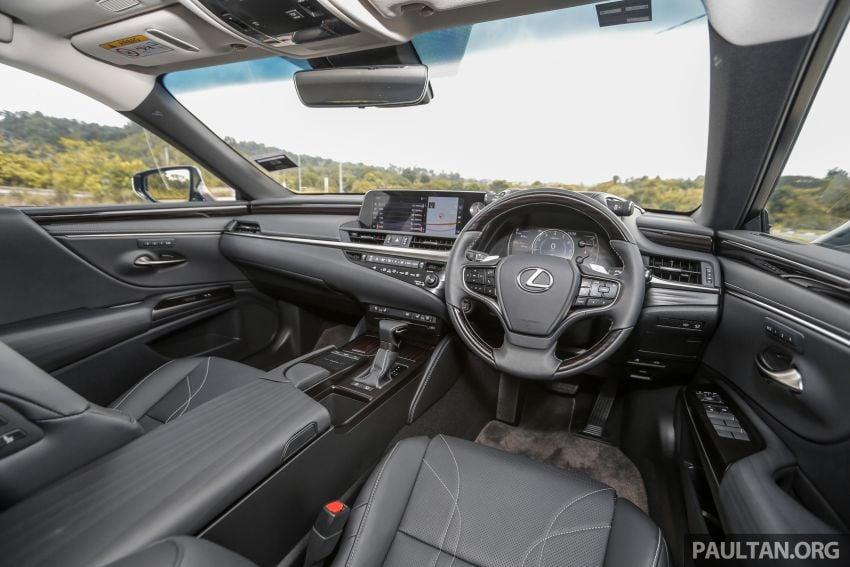 FIRST DRIVE: 2019 Lexus ES 250 Luxury – RM333k Image #1038413