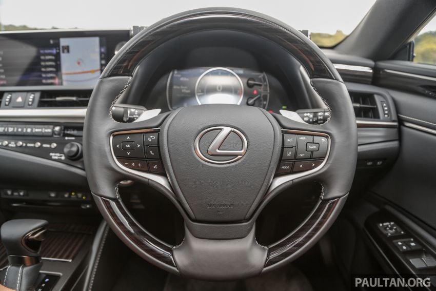 FIRST DRIVE: 2019 Lexus ES 250 Luxury – RM333k Image #1038389