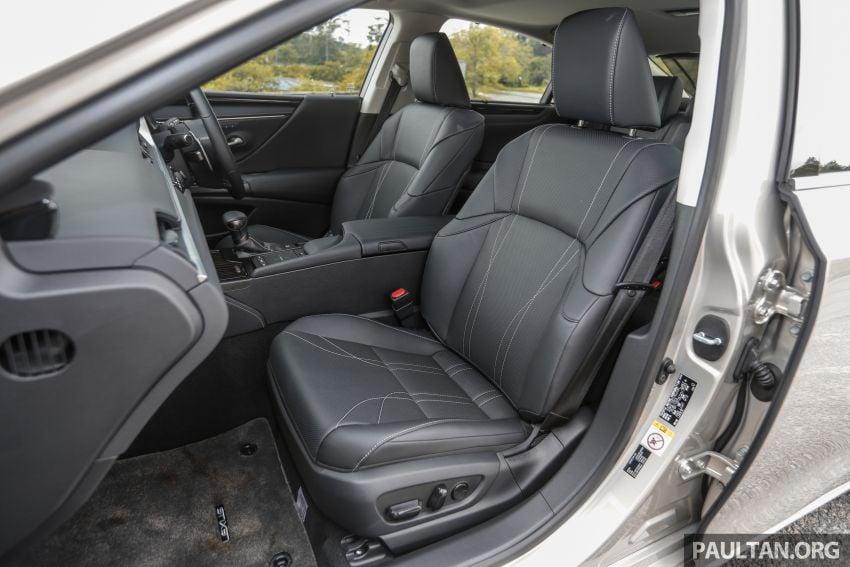 FIRST DRIVE: 2019 Lexus ES 250 Luxury – RM333k Image #1038422