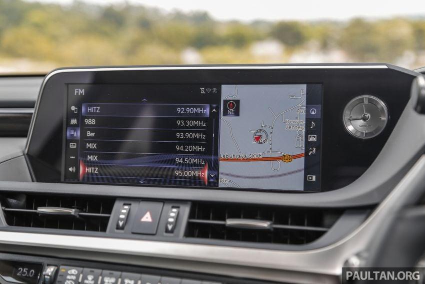 FIRST DRIVE: 2019 Lexus ES 250 Luxury – RM333k Image #1038395