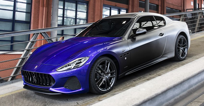 Maserati GranTurismo Zéda revealed – special one-off pays tribute to the end of GT production at Modena Image #1044825