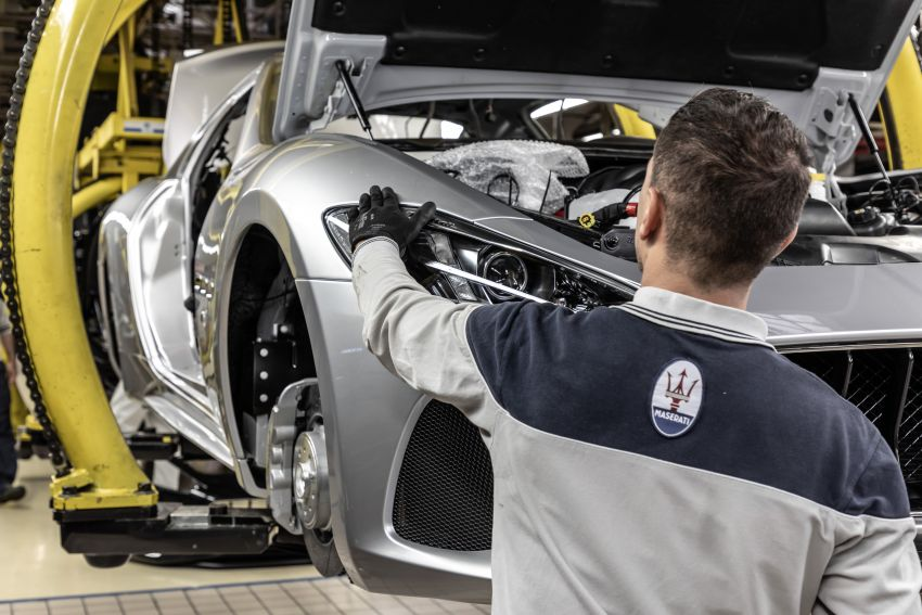 Maserati GranTurismo Zéda revealed – special one-off pays tribute to the end of GT production at Modena Image #1044842