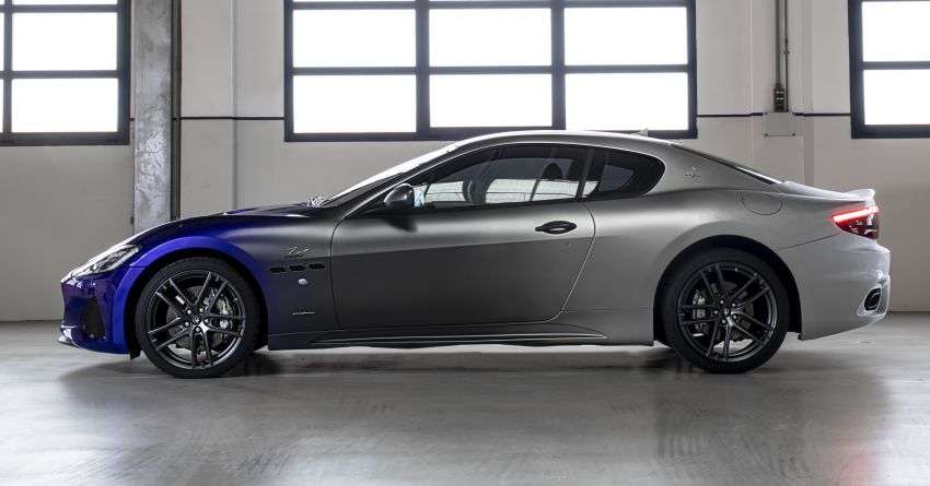 Maserati GranTurismo Zéda revealed – special one-off pays tribute to the end of GT production at Modena Image #1044827