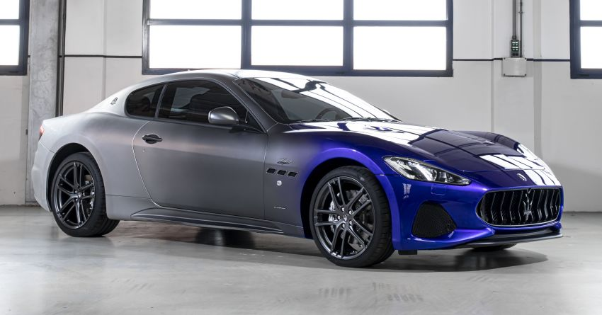 Maserati GranTurismo Zéda revealed – special one-off pays tribute to the end of GT production at Modena Image #1044828