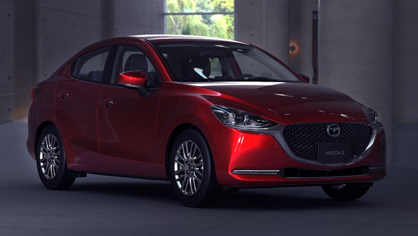 Mazda 2 Sedan facelift shown in Mexico with new look Image #1045878