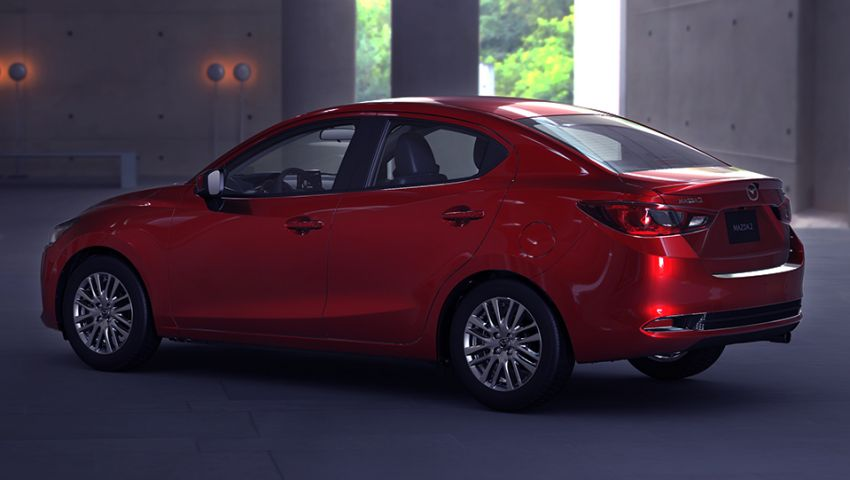 Mazda 2 Sedan facelift shown in Mexico with new look Image #1045880