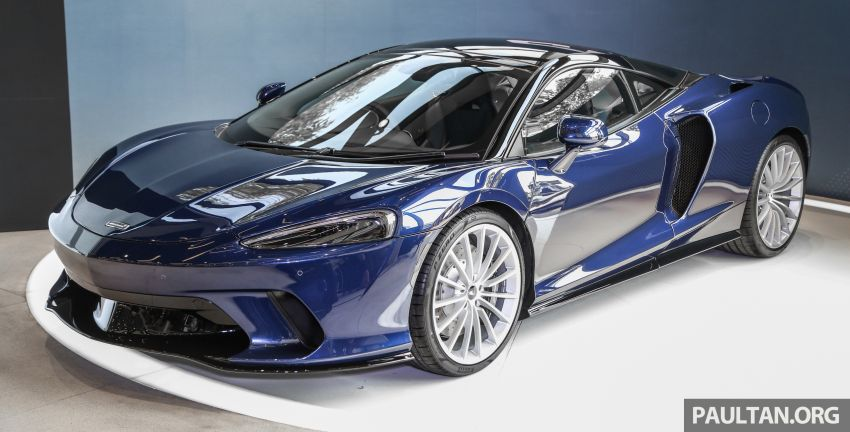 McLaren GT launched in Malaysia, priced from RM908k Image #1041386