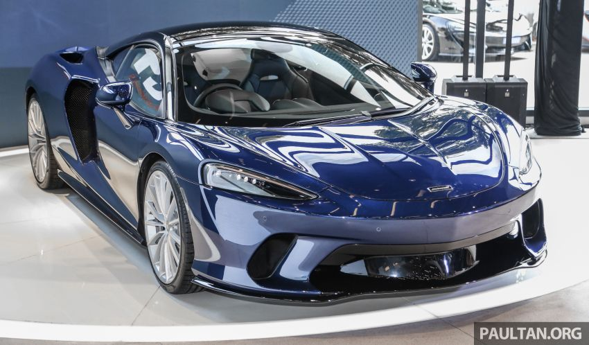 McLaren GT launched in Malaysia, priced from RM908k Image #1041388