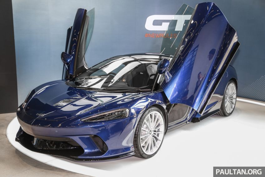 McLaren GT launched in Malaysia, priced from RM908k Image #1041688