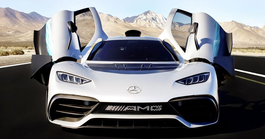 Mercedes-AMG One hypercar – deliveries start in 2021 Image #1051018
