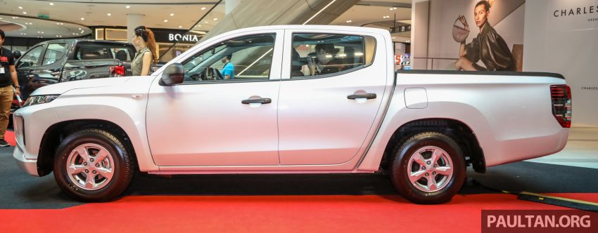 Mitsubishi Triton Quest facelift launched in Malaysia – low rider 4×2 workhorse gets Dynamic Shield, RM80k Image #1046312