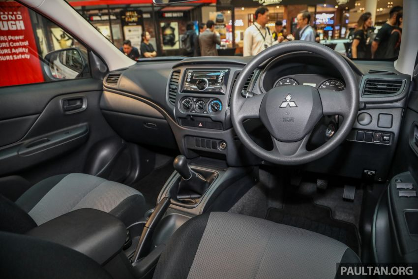 Mitsubishi Triton Quest facelift launched in Malaysia – low rider 4×2 workhorse gets Dynamic Shield, RM80k Image #1046339