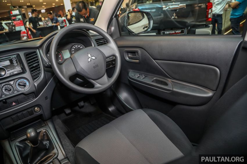 Mitsubishi Triton Quest facelift launched in Malaysia – low rider 4×2 workhorse gets Dynamic Shield, RM80k Image #1046340