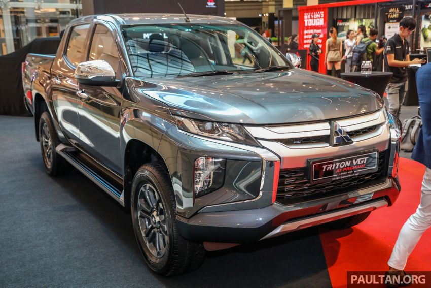 Mitsubishi Triton VGT AT Premium with improved specs – dashcam, leather, Apple Carplay, Android Auto Image #1046142