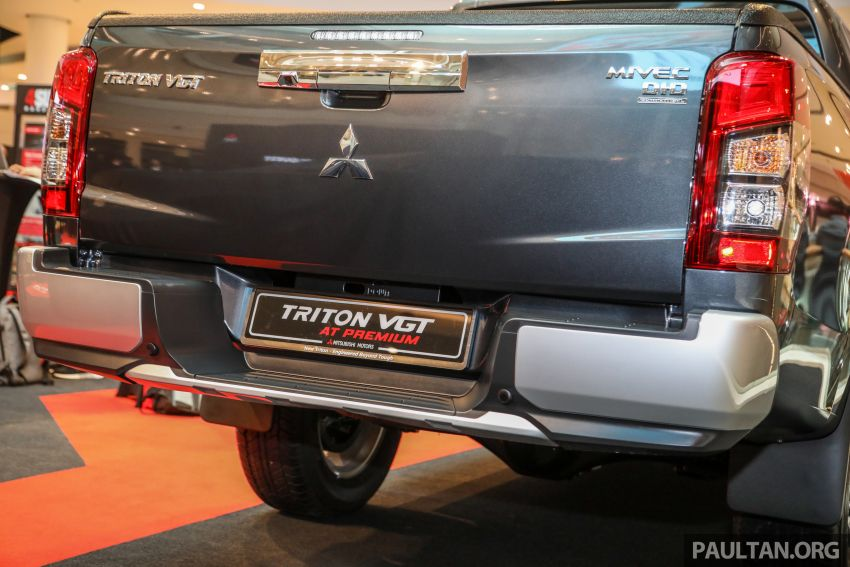 Mitsubishi Triton VGT AT Premium with improved specs – dashcam, leather, Apple Carplay, Android Auto Image #1046152