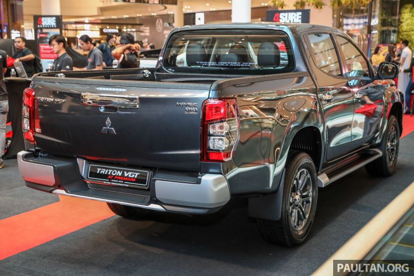 Mitsubishi Triton VGT AT Premium with improved specs – dashcam, leather, Apple Carplay, Android Auto Image #1046143