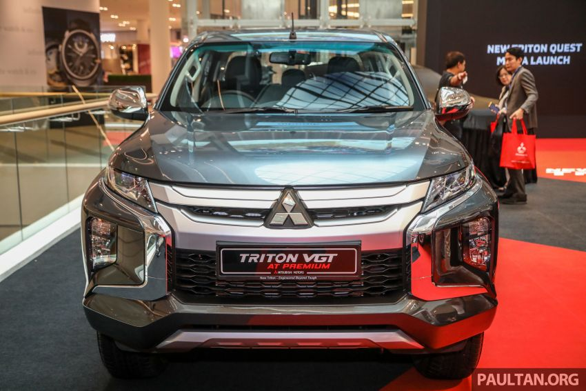 Mitsubishi Triton VGT AT Premium with improved specs – dashcam, leather, Apple Carplay, Android Auto Image #1046144
