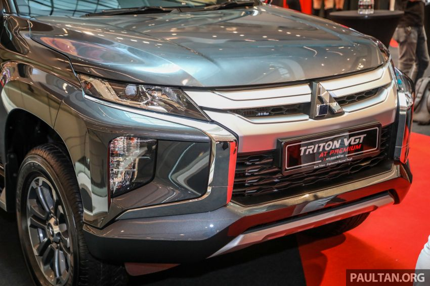 Mitsubishi Triton VGT AT Premium with improved specs – dashcam, leather, Apple Carplay, Android Auto Image #1046146