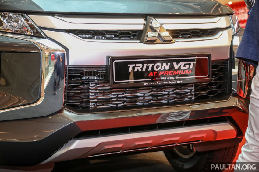 Mitsubishi Triton VGT AT Premium with improved specs – dashcam, leather, Apple Carplay, Android Auto Image #1046148