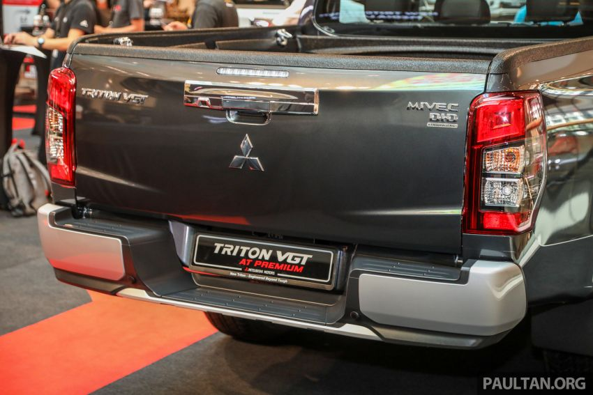 Mitsubishi Triton VGT AT Premium with improved specs – dashcam, leather, Apple Carplay, Android Auto Image #1046150