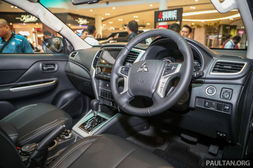 Mitsubishi Triton VGT AT Premium with improved specs – dashcam, leather, Apple Carplay, Android Auto Image #1046160