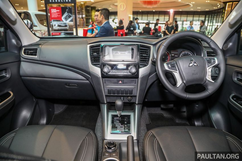 Mitsubishi Triton VGT AT Premium with improved specs – dashcam, leather, Apple Carplay, Android Auto Image #1046161