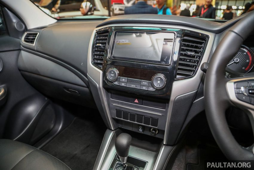 Mitsubishi Triton VGT AT Premium with improved specs – dashcam, leather, Apple Carplay, Android Auto Image #1046163