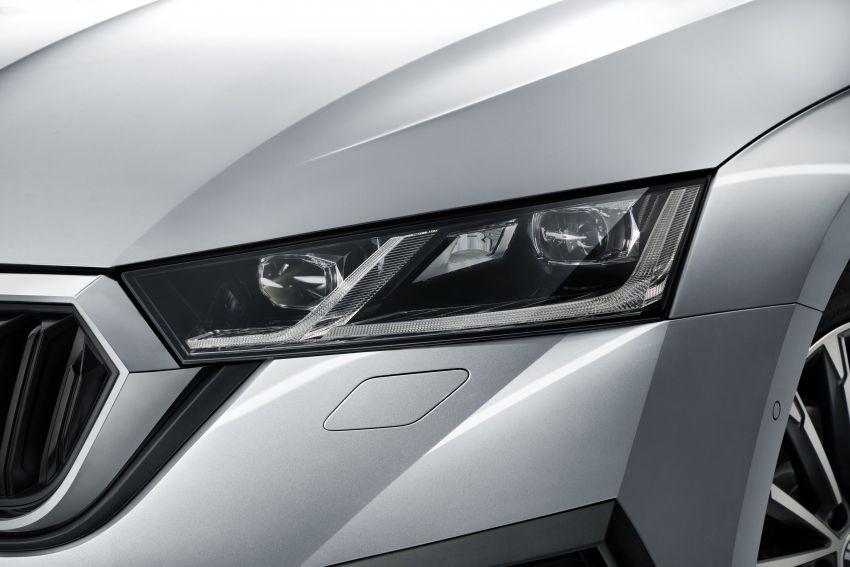 New Skoda Octavia – bigger, more tech, new iV PHEV Image #1044898