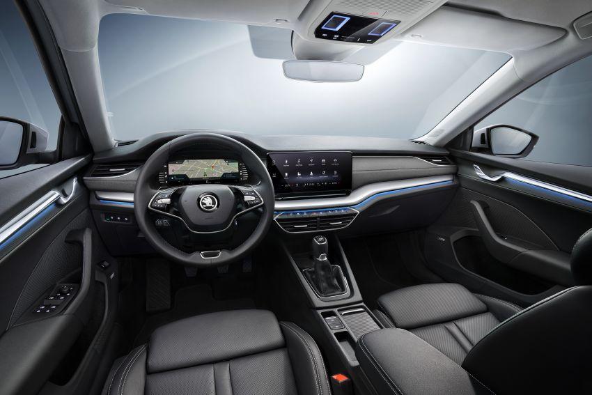New Skoda Octavia – bigger, more tech, new iV PHEV Image #1044932
