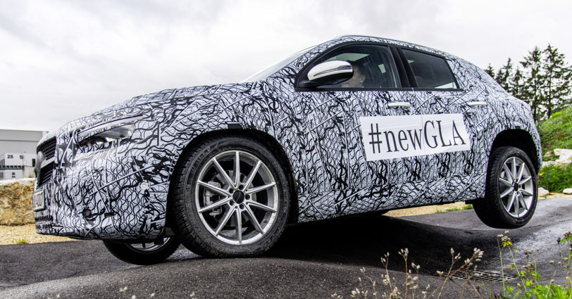 Next-gen Mercedes-Benz GLA teased – Dec 11 debut Image #1051020