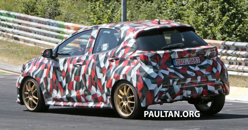 Toyota Yaris GR-4 teased – WRC-inspired model? Image #1042146