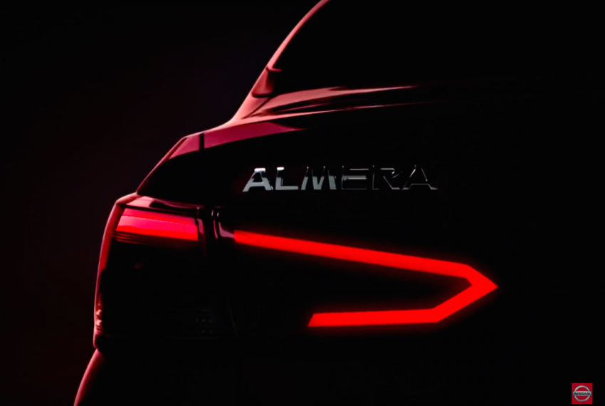 New Nissan Almera launching in Thailand next week Image #1043545