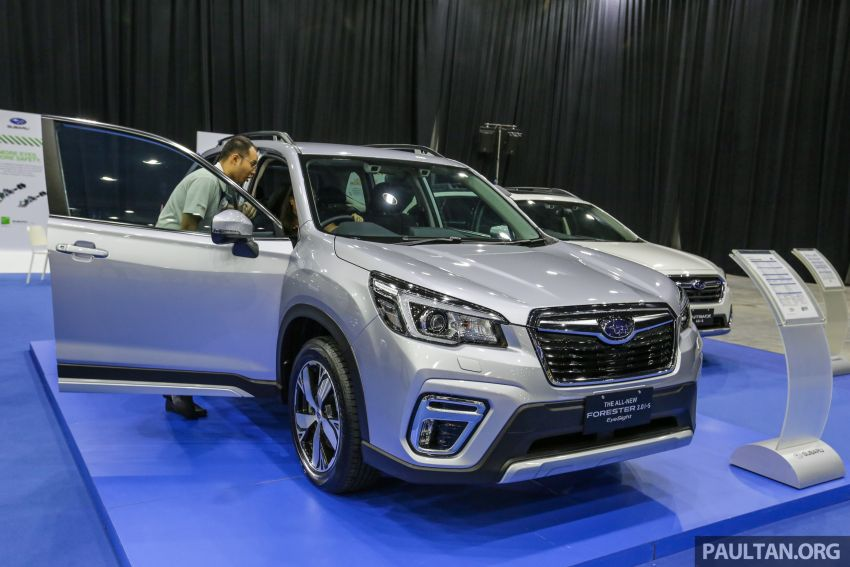 PACE 2019 – Buy a Subaru Forester with EyeSight and receive a complimentary three-year service package Image #1039531