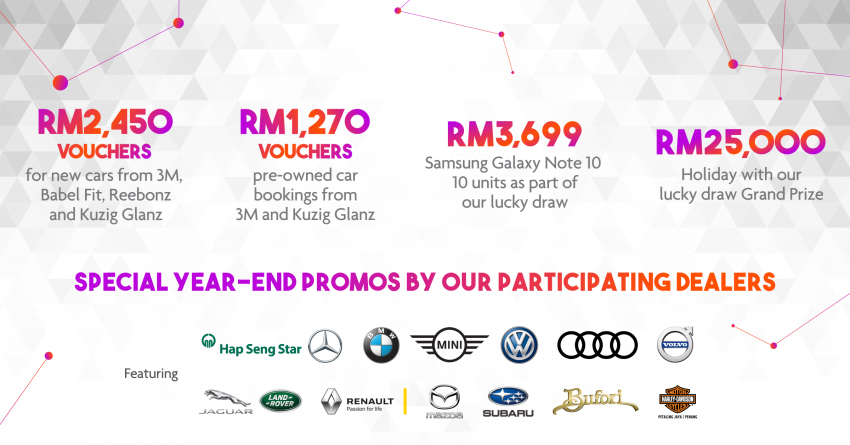 PACE 2019 – Plenty of deals on Mercedes-Benz cars at Hap Seng Star, chance to win 100g of 999.9 fine gold Image #1038893