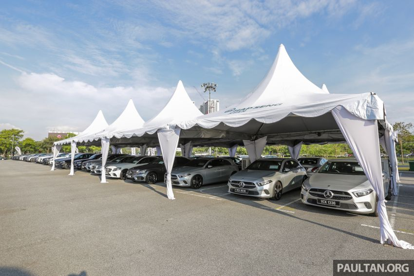 PACE 2019 – Plenty of deals on Mercedes-Benz cars at Hap Seng Star, chance to win 100g of 999.9 fine gold Image #1038887