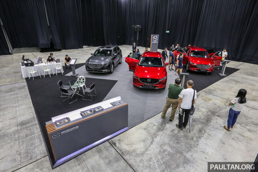 PACE 2019 – Mazda SUVs on display; enjoy attractive deals on pre-owned vehicles, exclusive merchandise Image #1039503