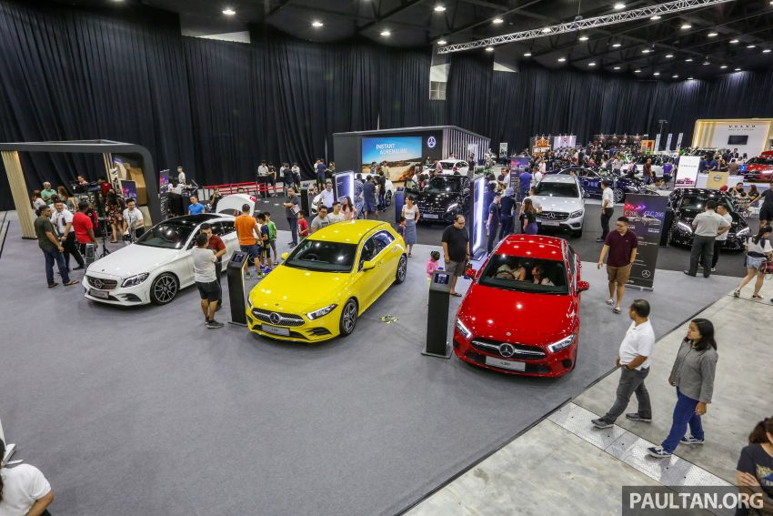 PACE 2019 – Plenty of deals on Mercedes-Benz cars at Hap Seng Star, chance to win 100g of 999.9 fine gold Image #1039452