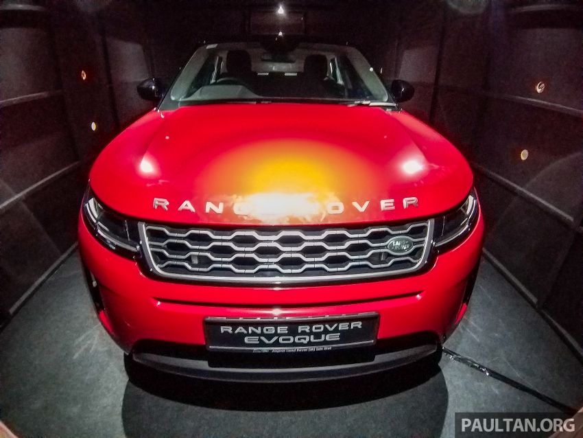 Second-generation Range Rover Evoque officially previewed in Malaysia at PACE 2019 – Q1 2020 launch Image #1038682