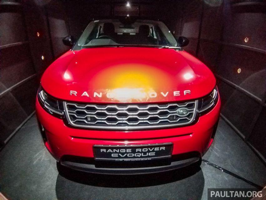 Range Rover Evoque generasi kedua dipertonton di Malaysia di PACE 2019 – lancar pada Q1 2020 Image #1038801