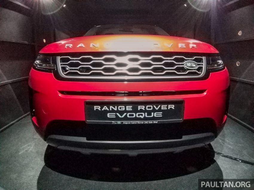 Range Rover Evoque generasi kedua dipertonton di Malaysia di PACE 2019 – lancar pada Q1 2020 Image #1038804