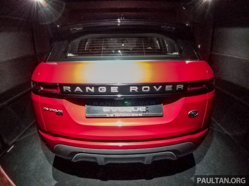Second-generation Range Rover Evoque officially previewed in Malaysia at PACE 2019 – Q1 2020 launch Image #1038688