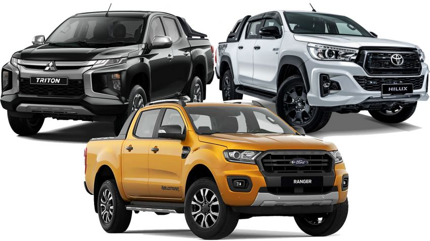 Five-year maintenance costs for Toyota Hilux, Ford Ranger, Mitsubishi Triton pick-up trucks compared Image #1047433